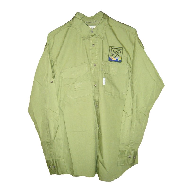 Men 39 s columbia fishing shirt crested butte land trust for Men s columbia fishing shirts