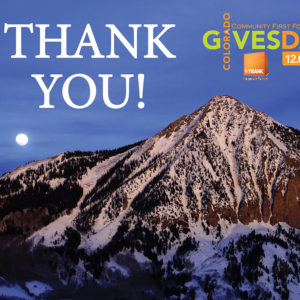 Colorado Gives Day Was a Great Success!